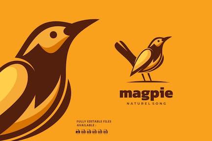 Bird Simple Mascot Logo