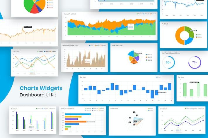 Thumbnail for Charts Widgets Dashboard UI Kit