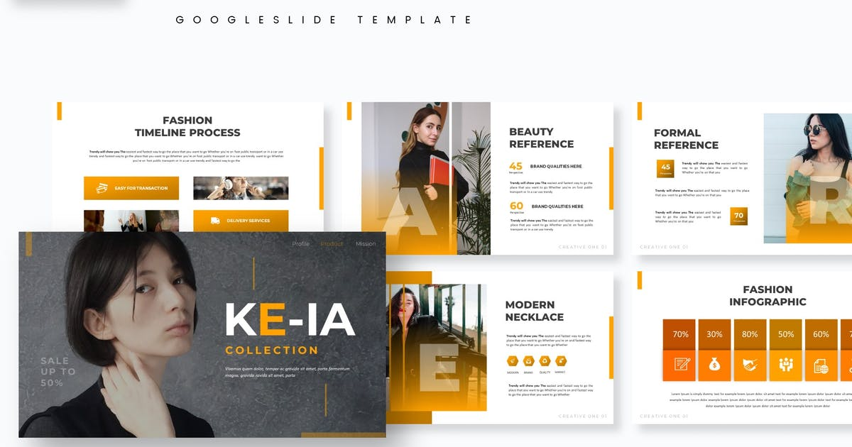 Download Keia - Google Slide Template by aqrstudio