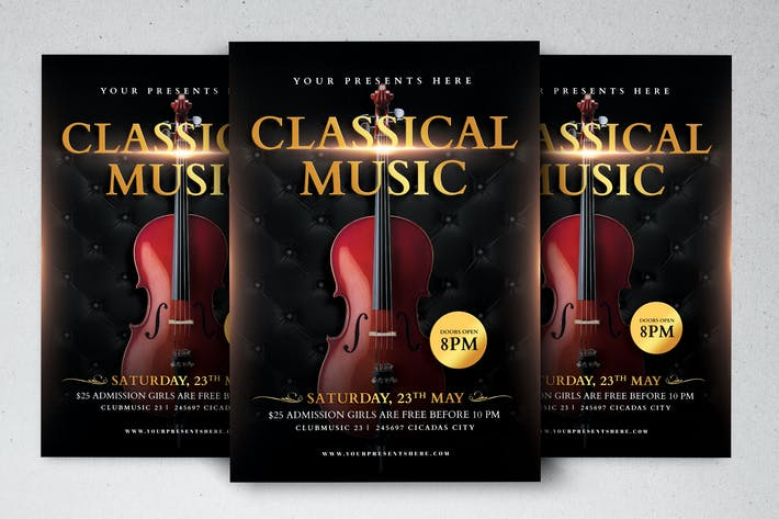 Thumbnail for Classical Music Flyer