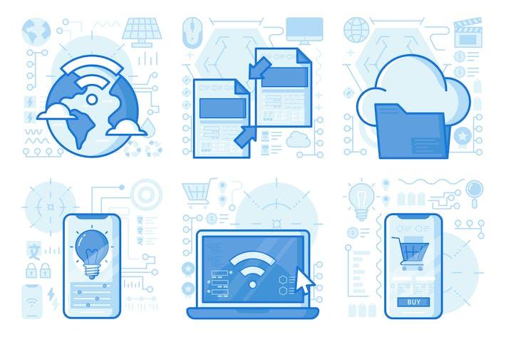 Thumbnail for иллюстрации UX для покупок смартфонов