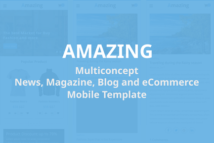 Amazing - Mobile Template