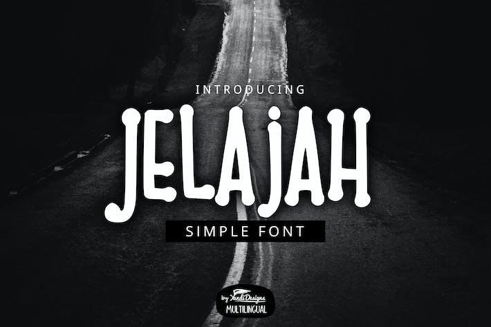 Thumbnail for Jelajah Font