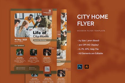 City Home - Flyer