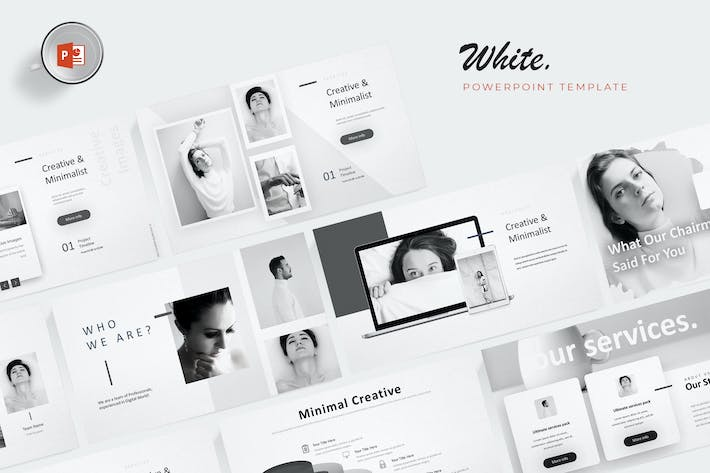 Thumbnail for White - Powerpoint Template