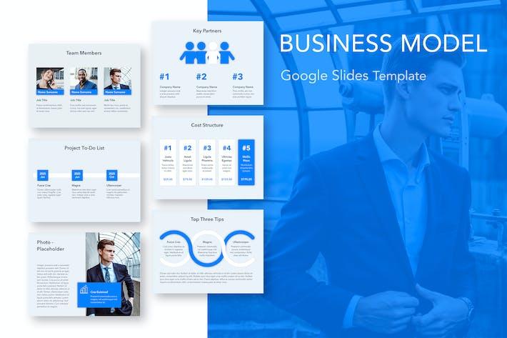 Thumbnail for Business Model Google Slides