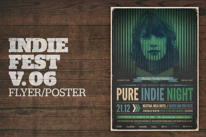Cover Image For Indie Fest Poster V06