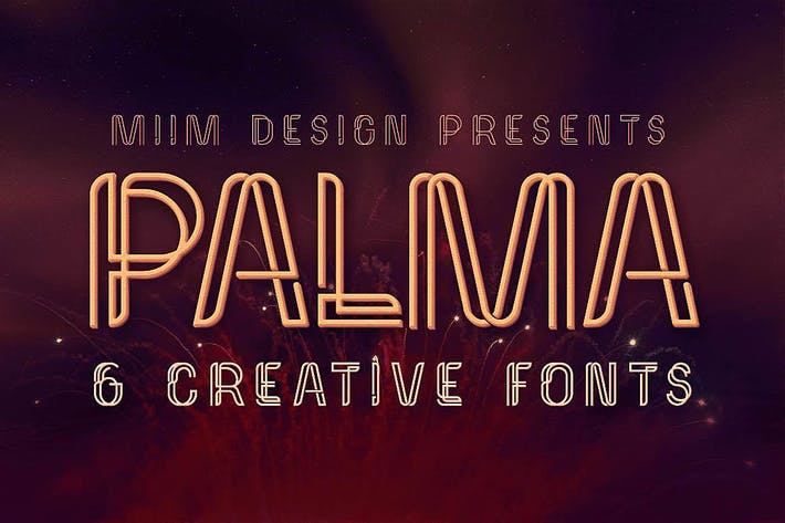 Thumbnail for Palma - Display Font