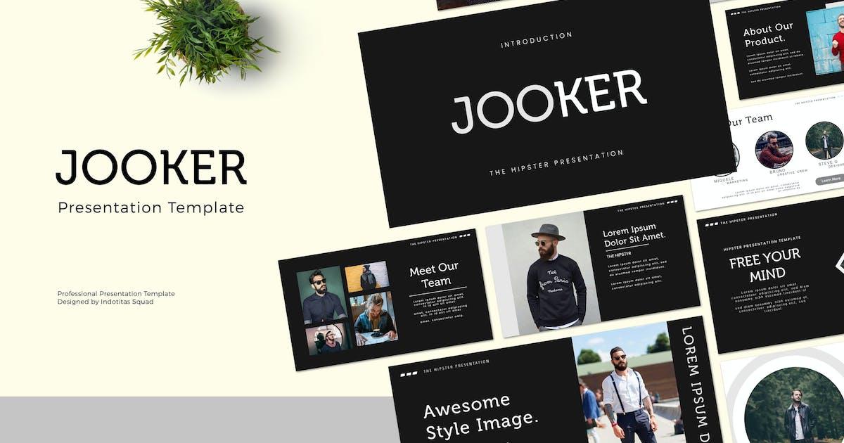 Download JOOKER - Keynote Template by indotitas