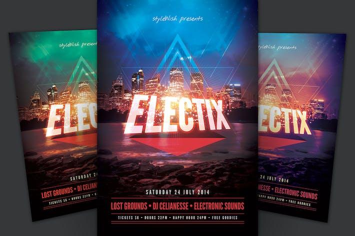 Thumbnail for Electix Flyer