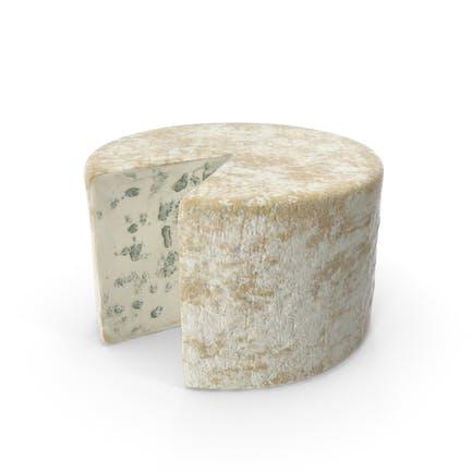 Rueda de queso azul