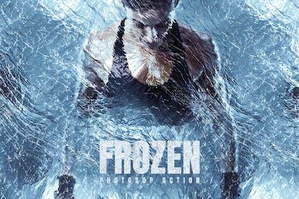 Frozen Photoshop Action