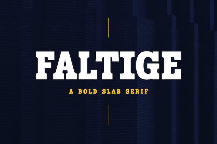 Faltige - Adventure and Sport Slab Serif