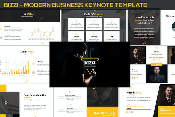 Thumbnail for Bizzi - Modern Business Keynote Template