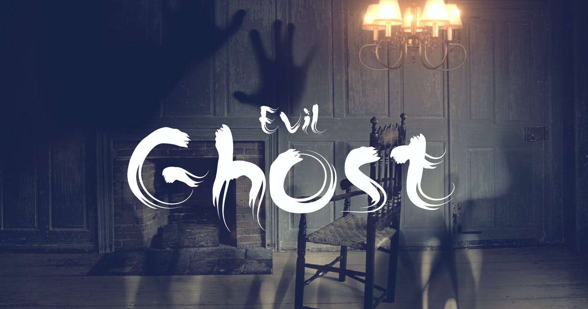 Download The Ghost - Haunted Display Typeface by naulicrea
