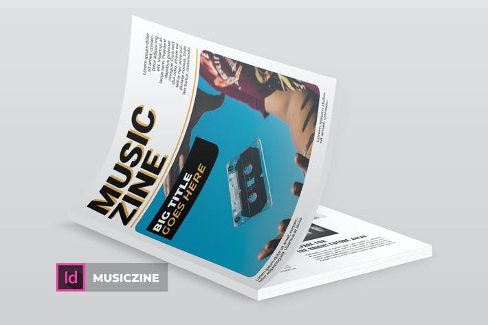 Thumbnail for Musiczine | Magazine Template