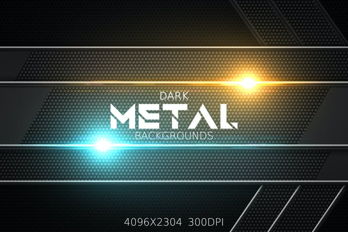 Dark Metal Backgrounds