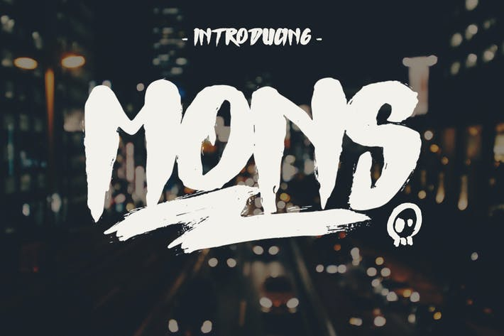 Thumbnail for Mons Typeface