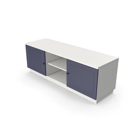 Soporte TV Azul Blanco