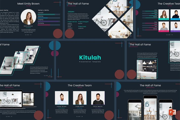 Cover Image For Kitulah - Powerpoint Template