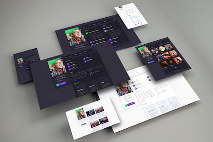 Bittanto - Creative Resume HTML5 Responsive Templa