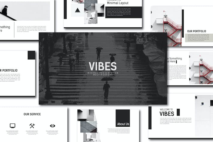 Thumbnail for Keynote презентации Vibes
