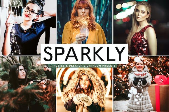 Thumbnail for Пресеты Lightroom Sparkly для мобильных и настольных компьютеров
