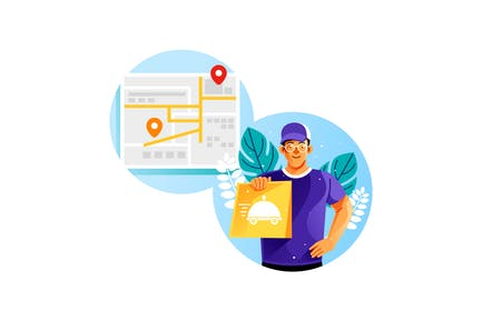 Online Food Courier
