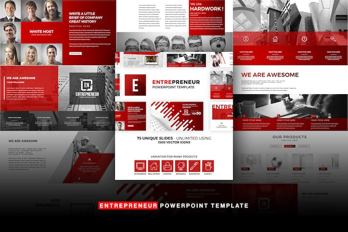 Thumbnail for Entrepreneur Powerpoint Template