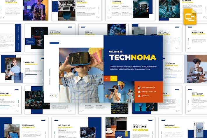 Thumbnail for Technoma - Творческий Шаблон слайдов Google