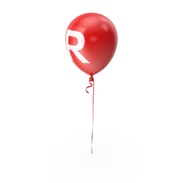 Cover Image for Letter R Balloon