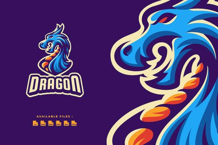Thumbnail for Dragon Sport and Esport Logo