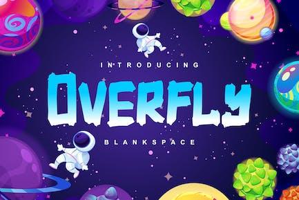 Overfly | Blank Space Script Font