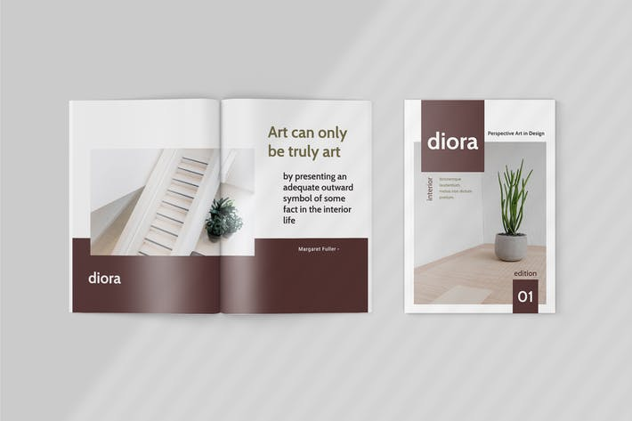 Thumbnail for Diora - Furniture Magazine Template