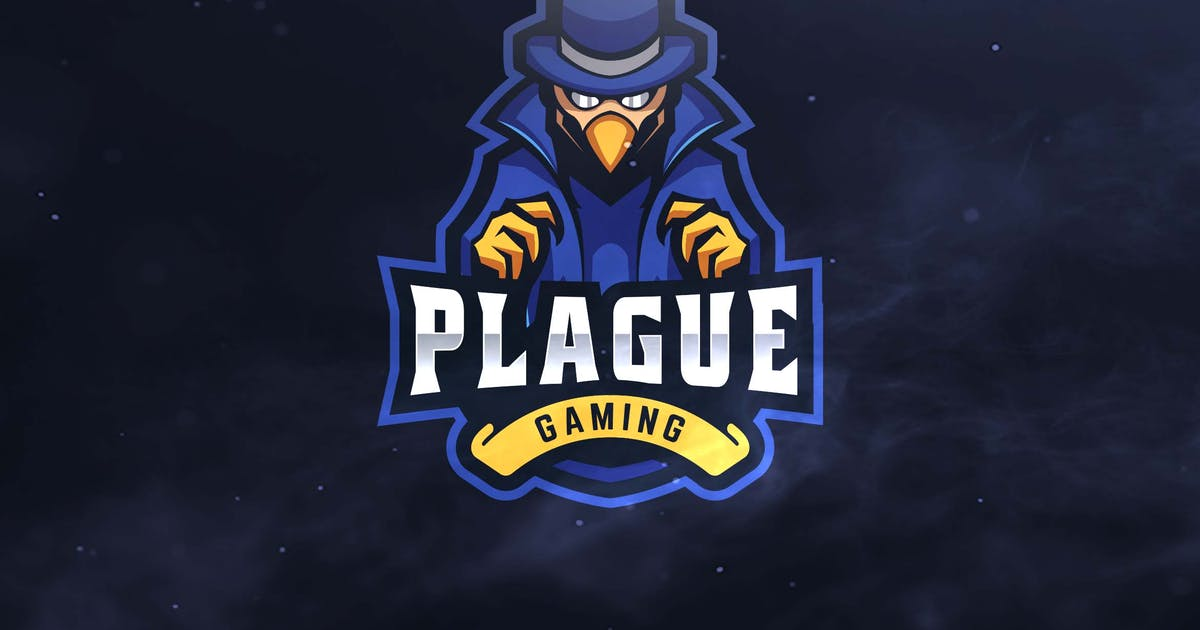 Download Plague Gaming Sport and Esports Logo by ovozdigital