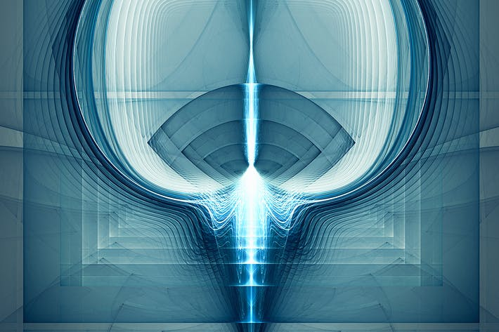 Thumbnail for High tech abstract fractal background