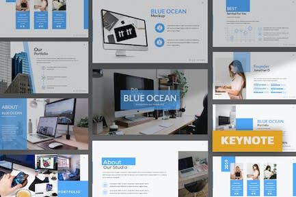 Деловой Keynote «Голубой океан»