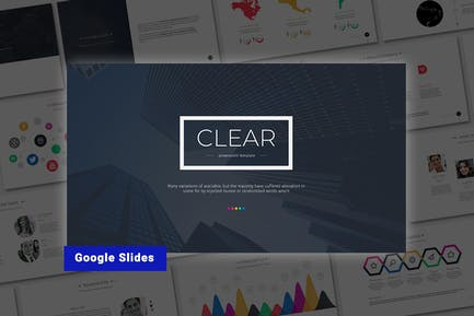 Clear-Google Slides Template