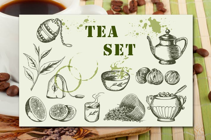Thumbnail for Vintage Tea Set