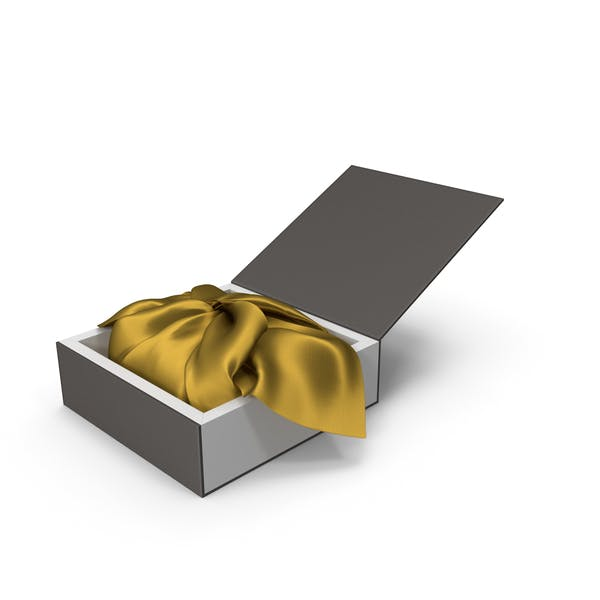 Wrapping Gold Cloth Gift Packaging Box