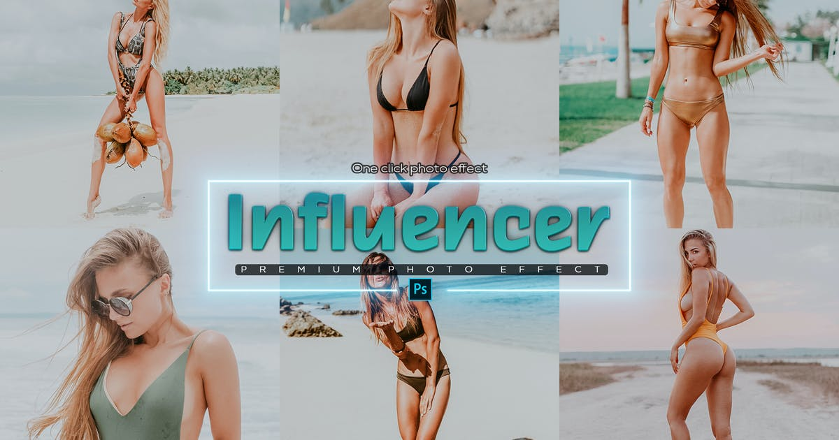 Download Influencer Editing Photoshop Actions by SupremeTones
