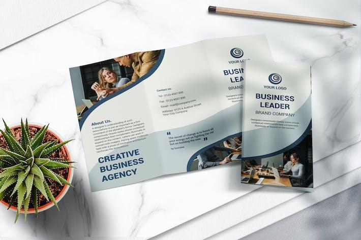 Thumbnail for Brochure Business Tri Fold Vol.01
