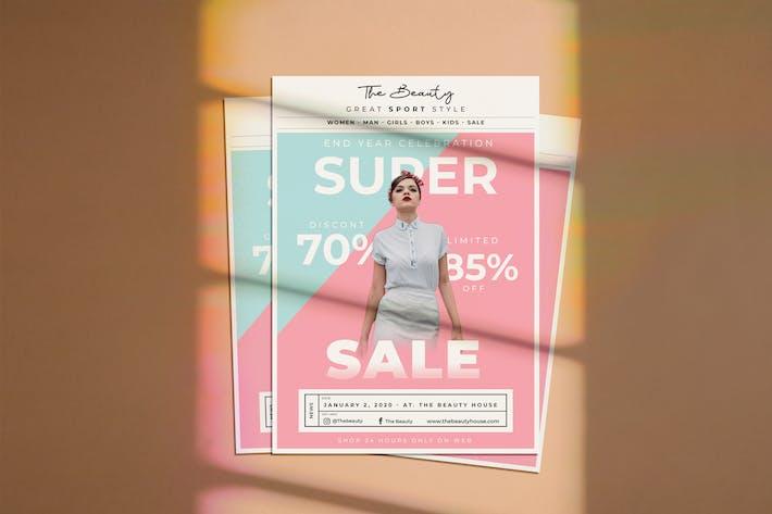 Thumbnail for Super Sale Flyer
