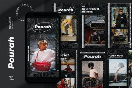 Pourah Instagram Stories