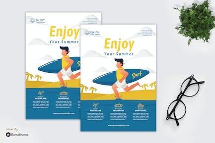 Enjoy Travel Agency - Creative Flyer Vol.03 GR
