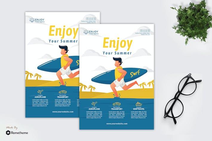 Thumbnail for Enjoy Travel Agency - Creative Flyer Vol.03 GR