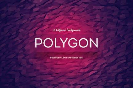 Polygon-Hintergründe bereinigen
