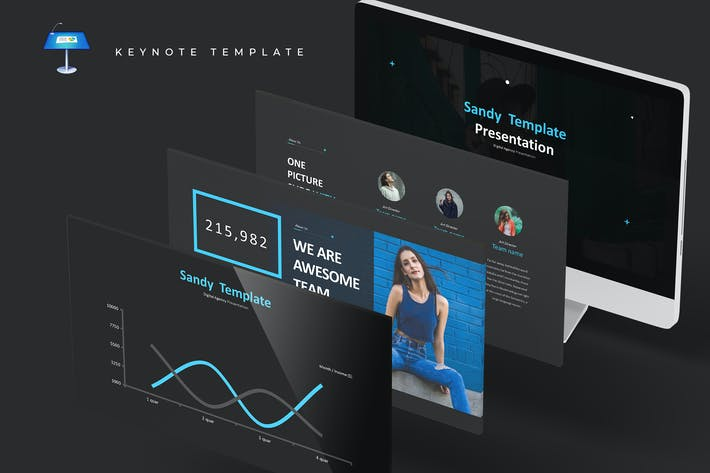 Cover Image For Sandy - Keynote Template