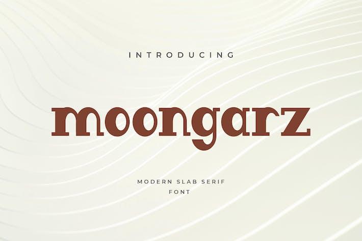 Thumbnail for Moongarz Serif font