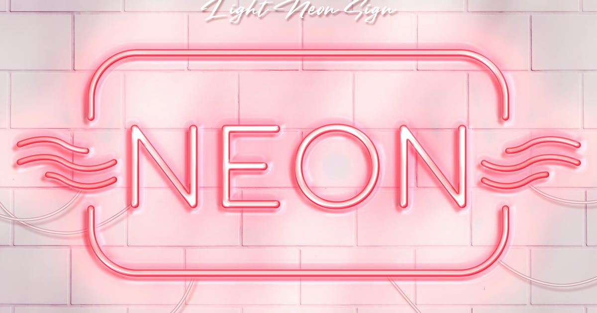 Download Light Neon Wall Sign by Sko4